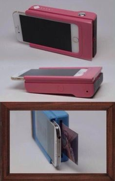 Attachable Polaroid picture printer