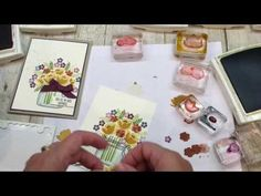 How to make a beautiful Jar of Love card with a Fall Flair - YouTube