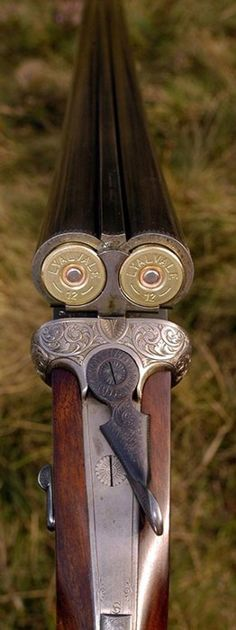 Beautiful 12 gauge double