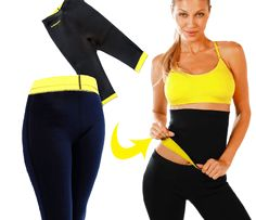 Hot shapers is unique neoprene fitness Wear for healthy weight loss. When worn, it increases the temperature of the body, thus make your body sweat. Sweating is the healthiest form of weight loss.