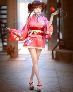 Anime Cosplay Mumei of Koutetsujou no Kabaneri Cosplay Lindo, Cute Cosplay, Cosplay Outfits, Best Cosplay, Cosplay Girls, Anime Cosplay, Kawaii Girl, Cute Girls, Asian Girl