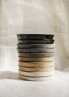 Temmoku Coaster - Little Garage Shop Temmoku Ceramic Coaster Slab Pottery, Pottery Plates, Pottery Mugs, Ceramic Pottery, Pottery Art, Pottery Wheel, Pottery Shop, Ceramic Tableware, Ceramic Mugs