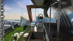 Architektur der Extraklasse  - V-Cube - Open architecture totally closable