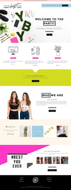 Squarespace Site Design by Hello Big Idea