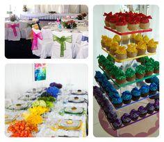 rainbow wedding theme | Events By Tammy: 2013 Wedding Trend #1: Rainbow Theme