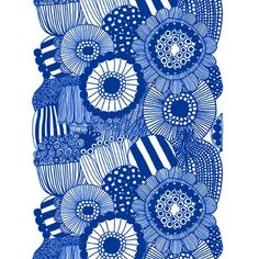 Circle repeat, made organic via the blog shhh .... it's lizeylou.  This is a Marimekko Fabric.