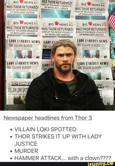 Thor, honey, sweety, my space puppy,..... WHAT THE HELL IS GOING ON?!?!?!?!