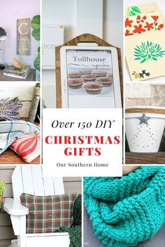 Here is a fabulous collection of creative DIY Christmas gift ideas that you can make to surprise friends, family, and more! #christmasgifts #diygifts