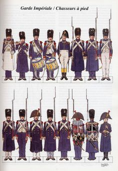 French Chasseurs of the Guard