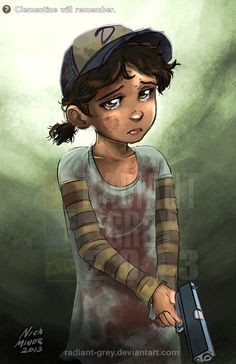 Clementine will remember by Radiant-Grey.deviantart.com on @deviantART
