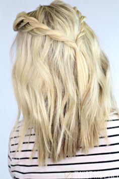 Cute hairstyle medium hair