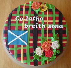 Schotse felicitatie voor Krijn zijn verjaardag