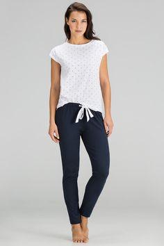 women'secret   Productos   Pijama largo estampado de algodón 27,99 €
