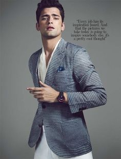 Sean OPry Stuns in Louis Vuitton for August Man Malaysia Cover Shoot Louis Vuitton Paris, Look Fashion, Mens Fashion, Fashion Wear, Male Models Poses, Sean O'pry, Well Dressed Men, Good Looking Men, Modern Man