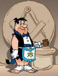 The Yaba Daba Lodge #001 in Bedrock... WM Fred Flintstone..