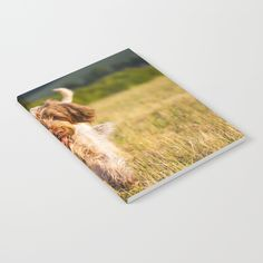 Brown Roan Italian Spinone Dog in Action Notebook by Heidi Anne Morris. Worldwide shipping available at Society6.com. Just one of millions of high quality products available.