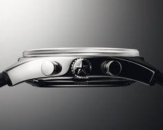 Zenith - El Primero Chronomaster 1969 chronograph - case - side - crown - detail #watchdesign