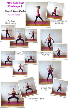 New Year Reset Challenge: Upper & Lower Body Combo Workout  #barre #pilates #fitness