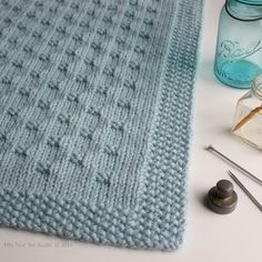 I'm excited to announce my newest blanket knitting pattern...the Belleview Blanket! The pattern is available on Ravelry , Craftsy , LoveKn...