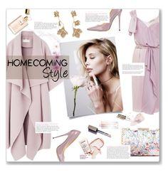 """#Homecoming Style"" by editaeduardovna ❤ liked on Polyvore featuring Nina Ricci, Jimmy Choo, M&S, Oscar de la Renta and Ciaté"