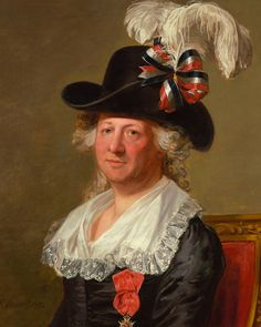 Gilbert Stuart's portrait of the French spy, diplomat, and transvestite Chevalier D'Eon, painted in London in 1792