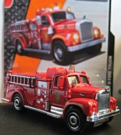"1963 Mack B Fire Truck"" from 2014 Matchbox..."
