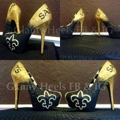 Not my team, but these are cute! #glamyheels