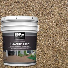 Galaxy Quartz Decorative Flat Interior/Exterior Concrete Floor - The Home Depot Bring a stunning and new look to your floor with this durable BEHR Premium Galaxy Quartz Decorative Concrete Floor Coating. Flat Interior, Interior Exterior, Exterior Paint, Gray Exterior, Interior Design, Exterior Windows, Interior Decorating, Decorating Ideas, Concrete Floor Coatings