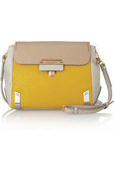 Sheltered Island block leather shoulder bag by Marc by Marc Jacobs