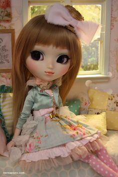 Nerea Pozo Art: ♥ Custom Pullip doll DIANNE PEARL ♥