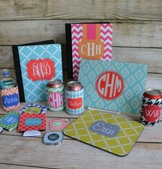 Best website for all things monogrammed. The picture doesn't even begin to cover… Arts And Crafts, Diy Crafts, Monogram Gifts, Vinyl Projects, Cool Websites, Just In Case, Initials, How To Memorize Things, Christmas Gifts