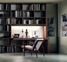 Scrivania con libreria | ♥ Home . (: ♥ | Pinterest | Scrivania con ...