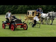 National Geographic: Horses vs. Horsepower: Watch Historic Rides Race Each Other