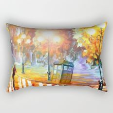 Old Tardis Rectangular Pillow