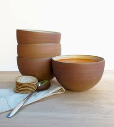 Stoneware Soup Bowl Set | Home Dining & Barware | CGceramics | Scoutmob Shoppe | Product Detail