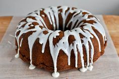 Chewy Brownie Bundt Cake (just don't use Bakers if you can find a better unsweetened chocolate like Guittard or Scharfenberger)