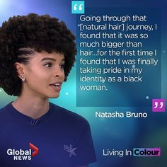 For black women, their natural hair is rooted deeply in their identity. Natural Hair Journey, First Time, Roots, Black Women, Identity, Natural Hair Styles, Day, Nature, Color