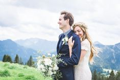 Hochzeit Zu Zweit Elopement Im Boho Stil Auf Dem Wallberg Hochzeit Berghochzeit Boho Stil