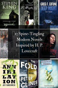 13 Spine-Tingling Modern Novels Inspired by H. I Love Books, Good Books, Books To Read, My Books, Book Tv, Film Music Books, Book Nerd, Modern Novel, Horror Books