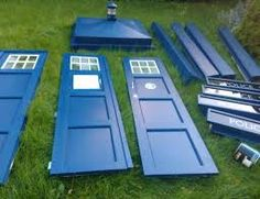 Another color? tardis little free library plans