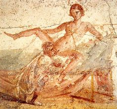 Pompeii, Remaining Town after Volcano Eruption-Brothel Fresco- pick Room Based in What Service Requested. https://en.wikipedia.org/wiki/Erotic_art_in_Pompeii_and_Herculaneum