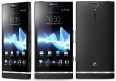 Here you see the Sony Xperia S
