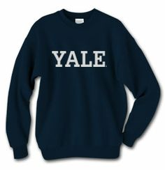 Yale Sweatshirt (Blue or Grey) (Christmas - long-sleeved navy t-shirt)