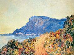 Sentier au cap Martin (C Monet - W 891),1884.
