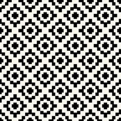 Black   off-white West by Southwest by Su_G fabric by su_g on Spoonflower - custom fabric