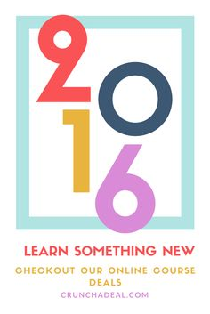learn a new skill in 2016 we will help you out with the best online