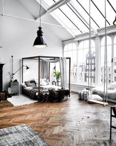 "464 Likes, 8 Comments - Laura Dittrich (@fashionlandscape) on Instagram: ""One of my favorite loft apartments by @theplayingcircle #humpdayvibes #inspiration"""