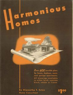 Harmonious Homes, 1948.  From the Association for Preservation Technology (APT) - Building Technology Heritage Library. An online archive of period architectural trade catalogs. It contains hundreds of old house plan catalogs. Select your era and flip through the pages.