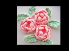 ถักดอกไม้กลีบง่าย ๆ - YouTube