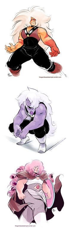 """Broad-shouldered, intimidating"" by The Gembeast's Temple 